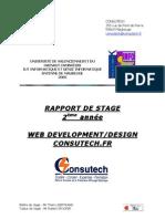 Rapport Stage Consutech SDelacre 2005