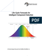 Life-Cycle Forecasts For Intelligent Electronic Component Selection