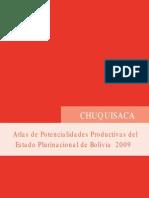 Atlas de potencialidades productivas de Chuquisaca