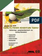 5 Pages Kung Fu Panda Fun