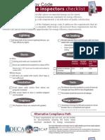 Alabama Checklist for Home Inspectors MB