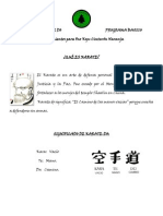 Shuri Ryu Karate Do Programa Basico