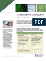 Mobile Network Optimization Datasheet