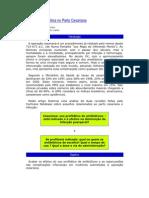 Profilaxia Antibiótica no Parto Cesariana