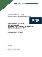 Informe de Cierre Ser Chumbivilcas Sector Cotabambas II Eta