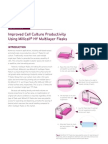 Improved Cell Culture Productivity Using Millicell® HY Multicell HY Flasks