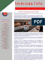 Boletín. Americas Info N| 12-2011