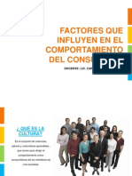 Clase 02 - Factores Que Influyen en El Comport a Mien To Del or - 2011