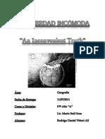 UNA VERDAD INCÓMODA (REPORTE)