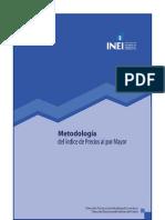 metodología del indice de precio al por mayor IPM