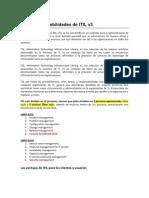 Fortalezas vs Debilidades ITIL v3