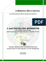 PBD Distilling Apparatus