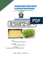 Proyecto Final de Forraje Verde Hidroponico UNDAC