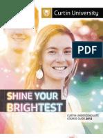 Curtin 2012 - Undergraduate Guide