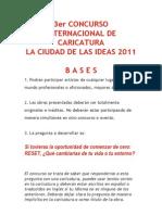 Bases Concurso Caricaturas 2011