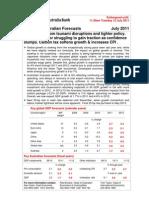 NAB Forecast (12 July 2011)