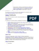 definicion sustancia psicoactiva
