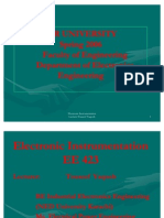 1 Electronic Instrumentation Introduction