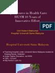 Malaysia Open Source Conference 2011 - Hospital Universiti Sains Malaysia
