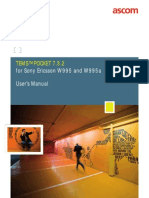 TEMS Pocket 7.3.2 for Sony Ericsson W995 and W995a -- User's Manual
