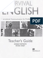 Survival English - Teachers Guide.1