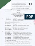 Biên bản họp ban chỉ đạo dự án số 1