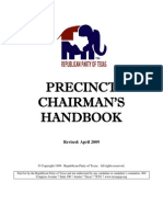 Precinct Chairman's Handbook