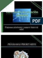 Programas Prioritarios Y PAQ BASICO1