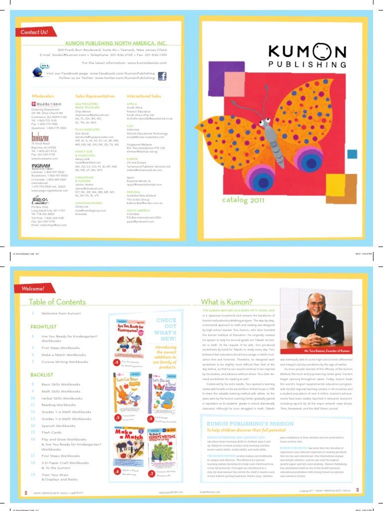 Kumon Publishing Catalog   Reading (Process)   Sicología y ciencia cognitiva