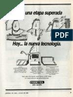 Publicidad Codetel 1990