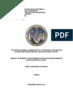 Propuestas Financiero-Contables