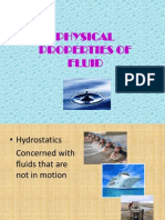 Physical Properties of Fluid