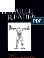 Bataille, Georges - The Bataille Reader (Eds. Botting & Wilson)