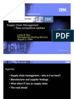 IBM Supply Chain Management Ppt