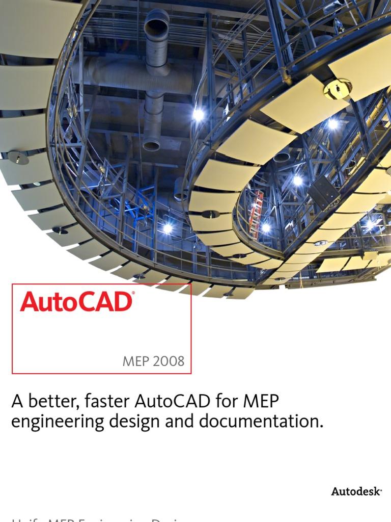 Autocad Mep 2008 Brochure | Auto Cad | Autodesk