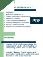 Inventory Mgt Iiird Module.