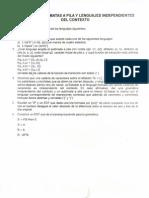 Ejercicios Autómatas a Pila - GCL
