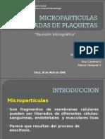 Microparticulas derivadas de plaquetas
