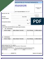 Iap Application Form