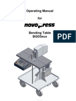 Novo Press BDG5eco