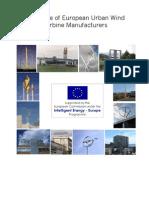 Catalogue of European Urban Wind Turbine Manufacturers