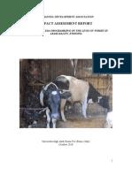 Impact Assessment EDA University of Rome