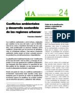 Sabatini_Conflictos Ambient Ales y Desarrollo Sostenible de Las Regiones Urbanas
