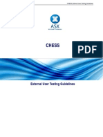 Chess External User Testing Guidelines