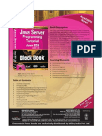 Java Server Programming Tutorial Java EE6 (J2EE 1.6) Black Book