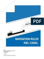 Regulations KIEL CANAL
