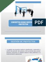 Conceptos de Gestion de Proyectos