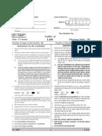 D 5807 PAPER II