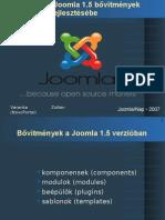 Bevezetés a Joomla 1.5 bővítmények fejlesztésébe