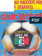 Edizioni.Panini.-.Campionato.1967.1968.-